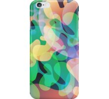 Abstract multi color background. iPhone Case/Skin