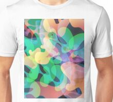 Abstract multi color background. Unisex T-Shirt