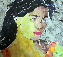 paper mosaic by anamahmed