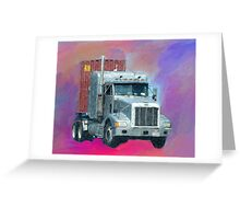 Big Rig Greeting Card