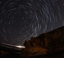 Star Trails at La Perouse by injectedideas
