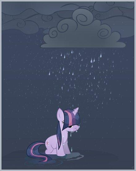 Rainy day pony by Stinkehund