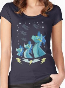 Wonderbolt Poster Women's Fitted Scoop T-Shirt