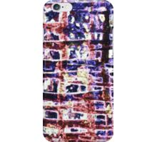 Criss Cross abstract bright pattern design iPhone Case/Skin