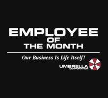 Umbrella Employee Of The Month T-Shirt
