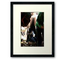 Lemon truck aftermath, Buenos Aires Framed Print