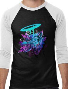 Crystal Wolf  Men's Baseball ¾ T-Shirt