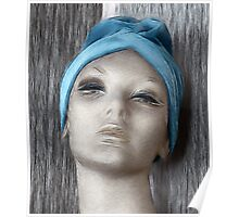 Blue Turban Poster