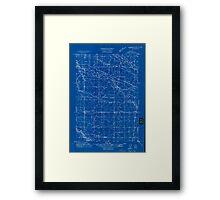 USGS Topo Map Oregon Tangent 282190 1911 31680 Inverted Framed Print