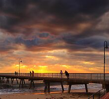 Glenelg jetty by adouglas
