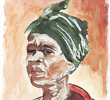 The Essence of Africa - Ethnic series,  by Maree  Clarkson
