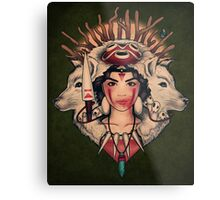 Spirit Princess Metal Print