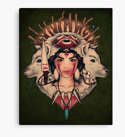 Spirit Princess Canvas Print