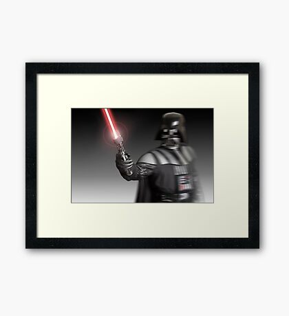 Echoes of a Master Framed Print
