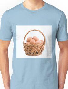 eggs in wicker basket  Unisex T-Shirt