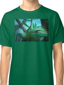 Green Tree Snake Classic T-Shirt