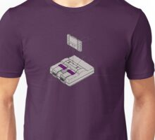 SNES and Cartridge Unisex T-Shirt