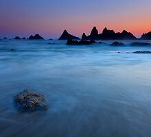 Seal Rock Dusk by DawsonImages