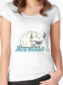 Buffalo Air Bisons Women's Fitted Scoop T-Shirt