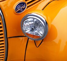 Bright yellow Ford by Kevin Krueger