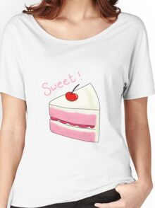 Sweet Strawberry Cake Women's Relaxed Fit T-Shirt