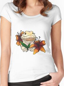 Bearded Dragon 2 Women's Fitted Scoop T-Shirt