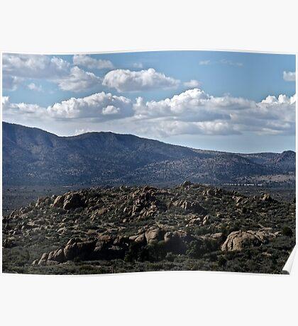Arizona Mountain View Poster