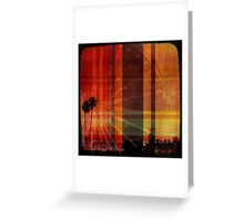 The aura of a beautiful day Greeting Card