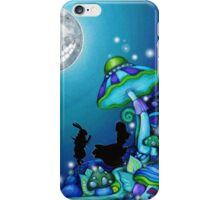 Alice in Wonderland and White Rabbit iPhone Case/Skin