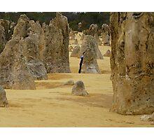 The Pinnacles #1  Photographic Print