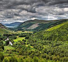 Loch Bhraoin - Loch of Rain Showers. Scotland by David Lewins