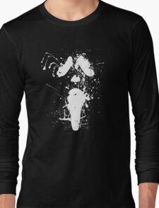 Ghostface Splatter (White) Long Sleeve T-Shirt