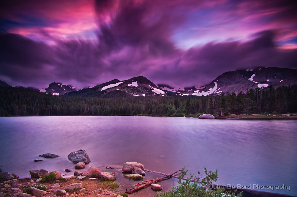 The Last Days Of A July Evening by John  De Bord Photography
