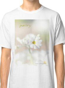 Purity STICKER © Vicki Ferrari Photography Classic T-Shirt