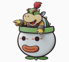 Bowser Jr. in his clown car! One Piece - Long Sleeve