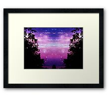 2 worlds in one!!! © Framed Print