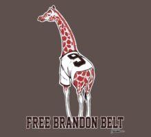 Free Brandon Belt Giraffe One Piece - Short Sleeve