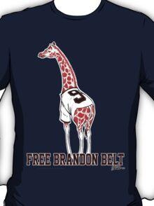 Free Brandon Belt Giraffe T-Shirt