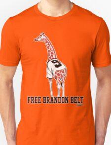 Free Brandon Belt Giraffe Unisex T-Shirt