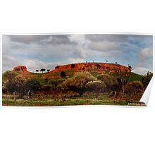 Gorge Western Australia Poster