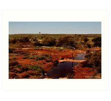 Random Windmill Western Australia Art Print