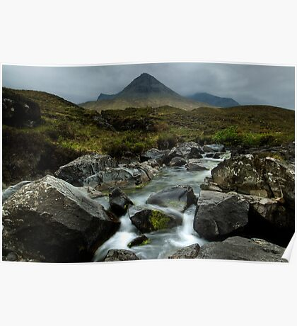 The Cuillin Mountains Poster