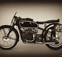 1939 TT Winner by David J Knight