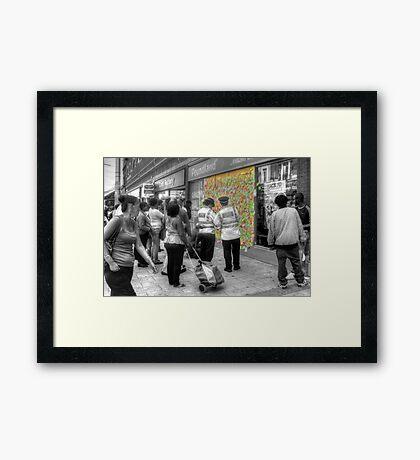 Words of Truth - Peckham Framed Print