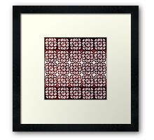 Pattern #17 Framed Print