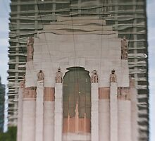 Hyde Park War Memorial - Sydney - Australia by Bryan Freeman