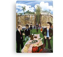 Corporate Lunch Canvas Print