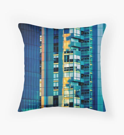 Melbourne Sunset Throw Pillow