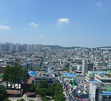 Daejeon Skyline by katm