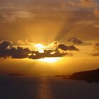 Donegal Sunset - Bunglas Sliabh Liag by emcsphotos